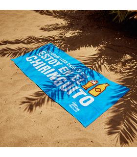 Toalla de playa  Estoy en el chiringuito
