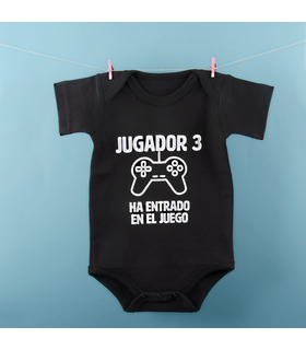 Body para bebé Jugador 3 entra en juego
